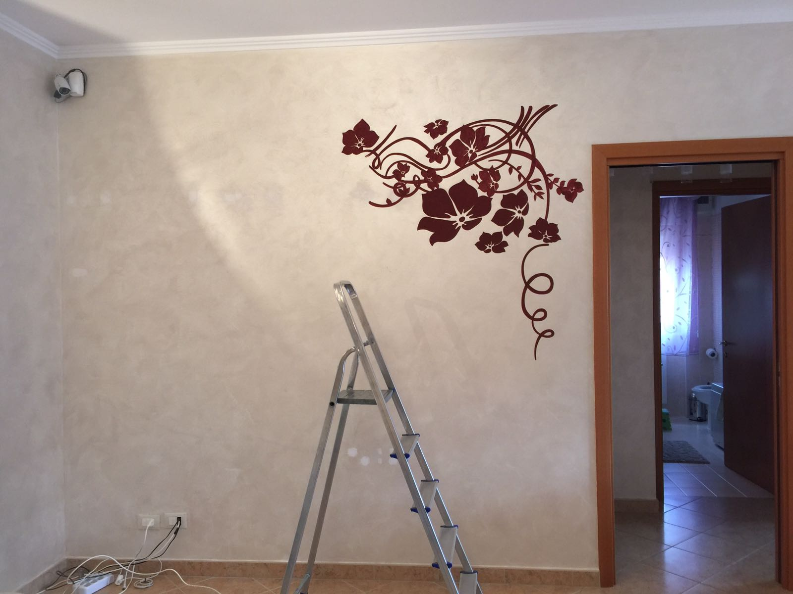 Decorazione parete - Fiori