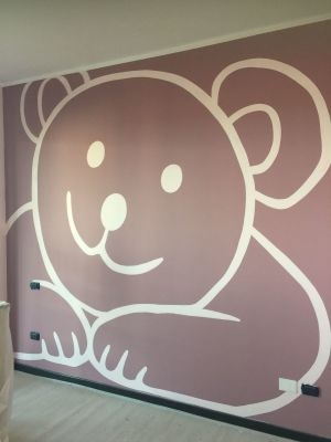 Decorazione parete - Orsacchiotto