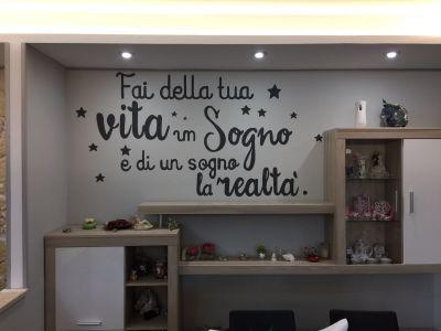 decorazione parete - Scritta