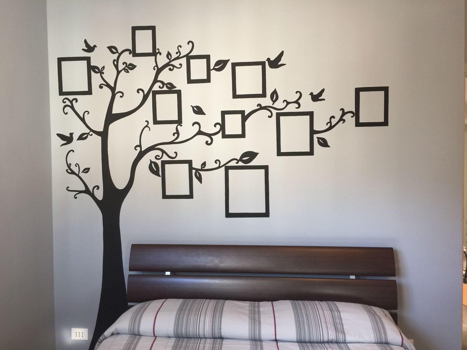 Decorare una parete con gli alberi delle foto - Decorare una parete ...