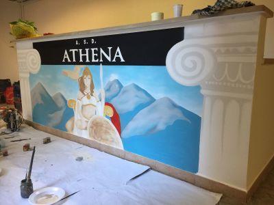 Decorazione Palestra Athena