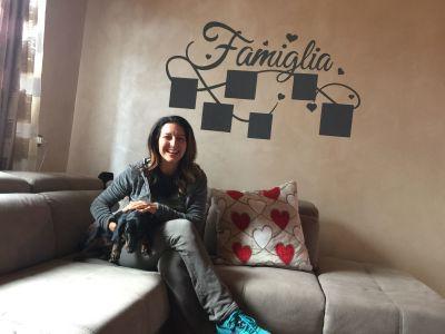 Decorazione parete - Famiglia e foto