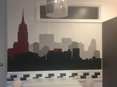 Decorazione parete - Skyline