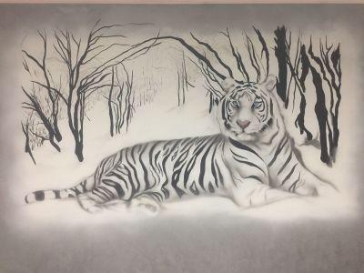 Decorazione parete - Tigre