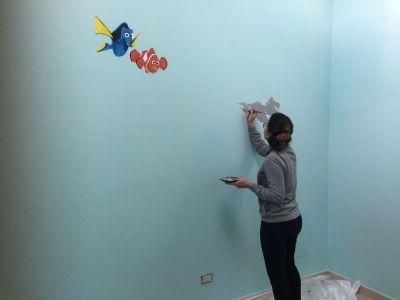 decorazione cameretta - Nemo Walt Disney
