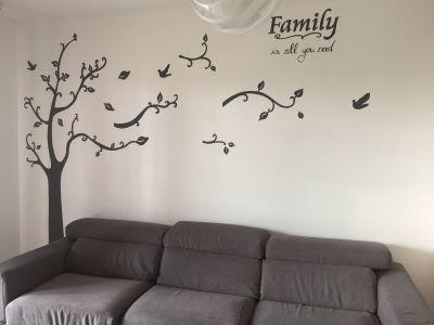 decorazione parete - Albero con foglie